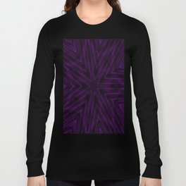 Eggplant Purple Long Sleeve T-shirt
