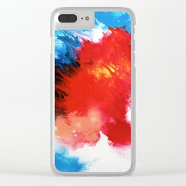 Wave Goodbye Clear iPhone Case