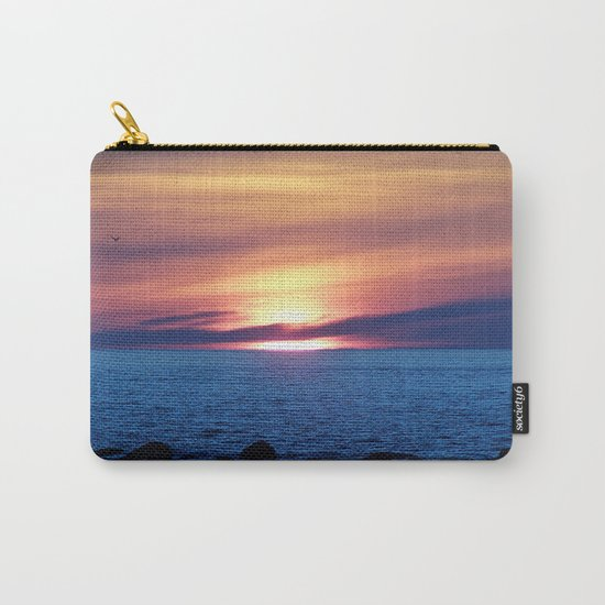 Sunset over Blue Waters Carry-All Pouch