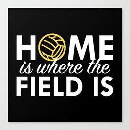 Home Is Where The Field Is Canvas Print