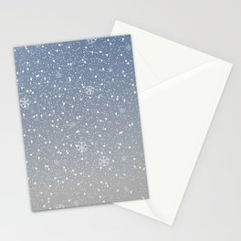 Snow Stationery Cards