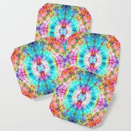 Rainbow Sunburst Coaster