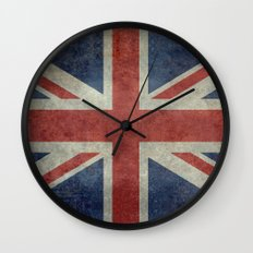 Union Jack Official 3:5 Scale Wall Clock