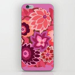 CAMBRIA, ART DECO FLORALS: LIPSTICK iPhone Skin
