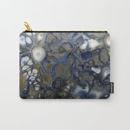 Blue Grey Matter Carry-All Pouch