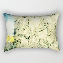 Little yellow chicks Rectangular Pillow