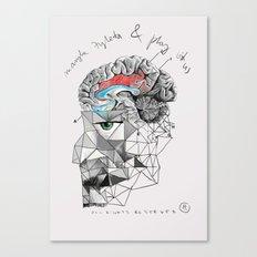Brainwash Canvas Print