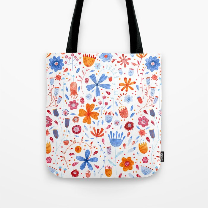 English Meadow Tote Bag
