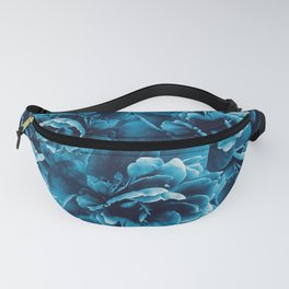 Blue Peony Flower Bouquet #1 #floral #decor #art #society6 Fanny Pack