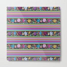 Peruvian Blanket Metal Print