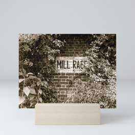 Mill Race Mini Art Print