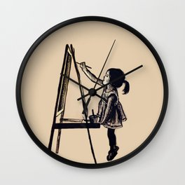 "Little ""Picasa"" Wall Clock"