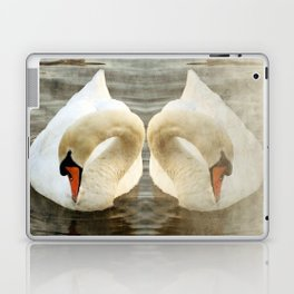 Swan Reflection Laptop & iPad Skin