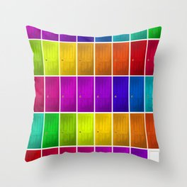 Knock, Knock. Who's there? Throw Pillow