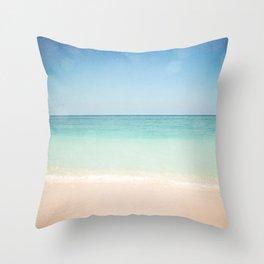 Seven Mile Beach Throw Pillow