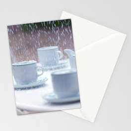 Rainy and sad afternoon Stationery Cards
