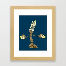 Be our guest Framed Art Print