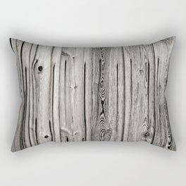 Black white and grey  wooden floor Rectangular Pillow