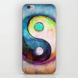 Yin Yang - Colorful Painting V iPhone Skin