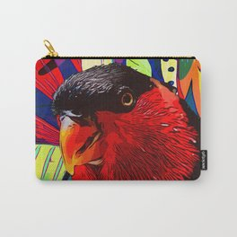 Sweet Parakeet Carry-All Pouch