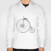 bicycle Hoodies featuring Bicycle by Michelle Krasny