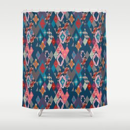 Circus_vintage Shower Curtain