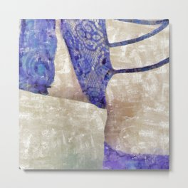 Abstract Form Metal Print