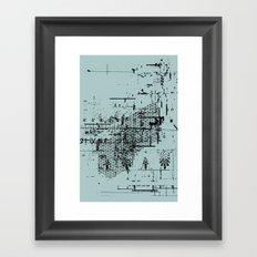USELESS POSTER 6 Framed Art Print