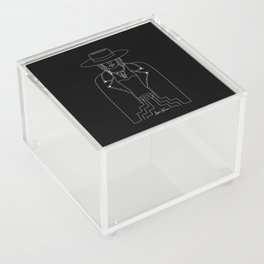 Lady Outlaw Acrylic Box