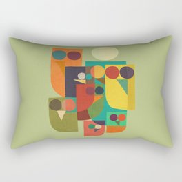 Owl squad Rectangular Pillow
