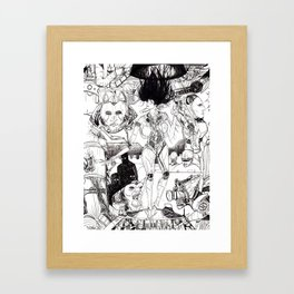 Quality Maintenance (Black & White) Framed Art Print