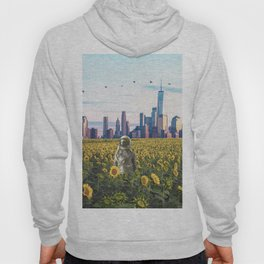 Astronaut in the Field-New York City Skyline Hoody