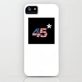 45* iPhone Case