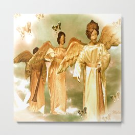Messengers of Peace and Love Metal Print