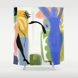Ode to Matisse Shower Curtain