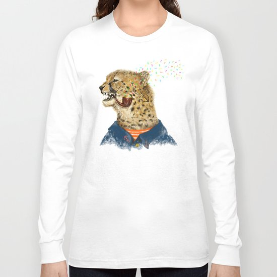 Cheetah Sailor II Long Sleeve T-shirt