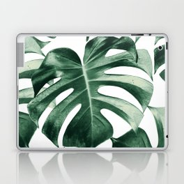 Tropical Monstera Leaves Dream #2 #tropical #decor #art #society6 Laptop & iPad Skin