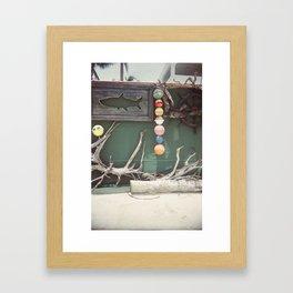 Keys life Framed Art Print