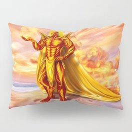 Dwain God of fire Pillow Sham