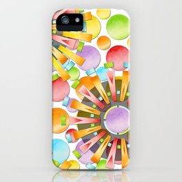 Birthday Party Polka Dots iPhone Case