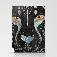 cheetah Stationery Cards featuring Cheetah by  Steve Wade (Swade)