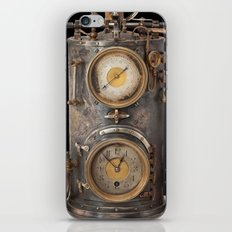 Vintage Clock iPhone Skin
