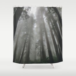 Cloud Sweepers Shower Curtain