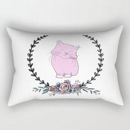 Kitten Wreath Rectangular Pillow