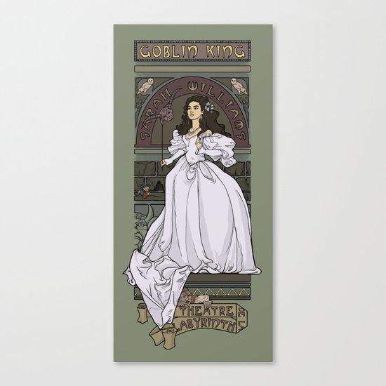 Theatre de la Labyrinth Canvas Print