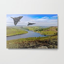 Vee Force in the Valley Metal Print