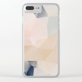 Pastel 3 Clear iPhone Case