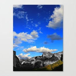 Tunnel View, Yosemite National Park, Fall 2013, Select Colour Canvas Print