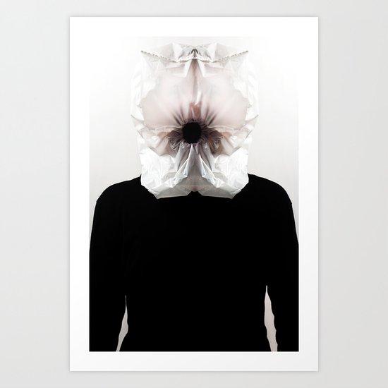 Vacuum head Art Print
