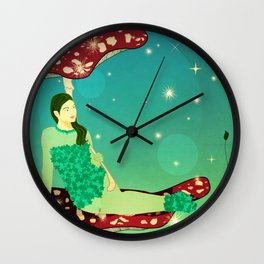 Fairy Queen Wall Clock